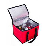 Customized portable quality Insulated food delivery cooler bag