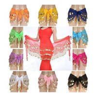 More Coins Cheap Belly Dance Hip Belt For Wholesale