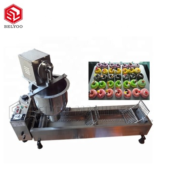Industry Donut Production Line Automatic Doughnut Machine