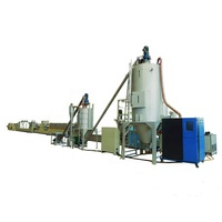 Union extruder machine plastic recycling High capacity PET strap production line