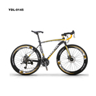 China Factory Supply Aluminum Alloy FrameDouble Disc Brakes Road Bike 27 Speed 700C Sports Bikes