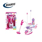 education pretend play toys cleaner toy kids cleaning set with sanitary ware