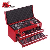 Torin BigRed Tool box with Tools(92 PCS mechanical tools set)