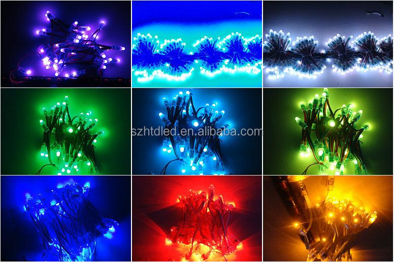 Addressable WS2811IC Full color 12mm DC5V LED pixels light