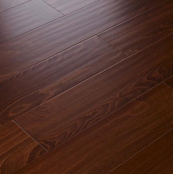 Residential Light Brown European Oak Wire Brushed Wooden Flooring Solid White Used Hardwood