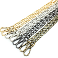 Wholesale 120cm 60cm DIY Accessories Gold Metal Bag Hanger Chain