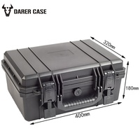 Black Plastic Equipment Case DPC065 and 400*320*180mm