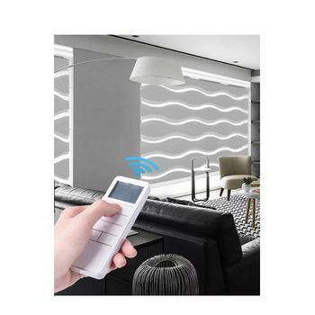 Hot sale motorized blinds track/ remote control automatic blinds motor