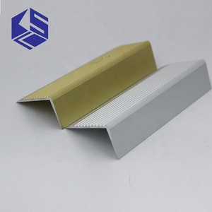 Aluminium stair nosing strips step nose edging nosings for carpet&wood