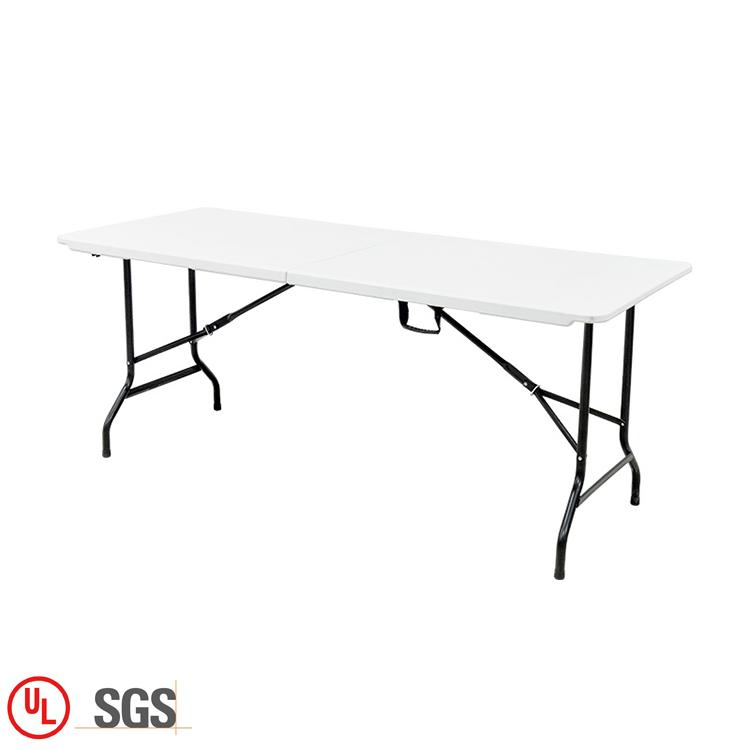 Großhandel Weiß Chinesischen Edelstahl 6 Sitzer Esstisch Designs