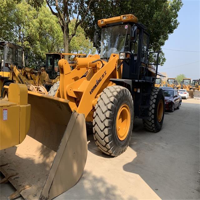 lonking 5 ton front end loader / Best value 5 tons loading Wheel loader price LG855D LONKING in China/used wheel loader
