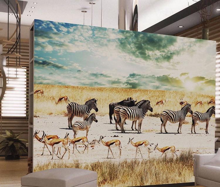 Zebra Print Behang.Koop Laag Geprijsde Dutch Set Partijen Groothandel Dutch Galerij