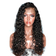 Good quality wholesale sale 10a Brazilian deep curly 100% curly full lace human hair wig