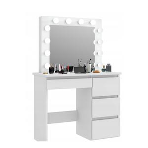 Beau Modern Dressing Table With Mirror Makeup Table Vanity Table In Bedroom