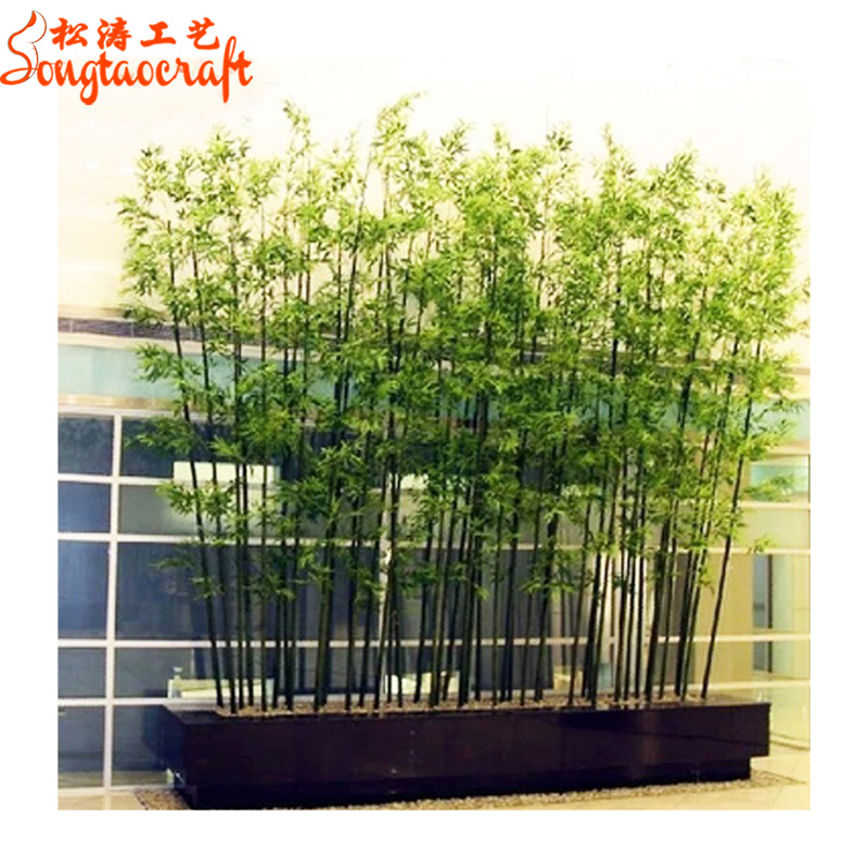 Guangzhou Wholesale Fake Lucky Bamboo Fencing Artificial Bamboo Fence Poles  Cheap Prices Evergreen Plants Branches And Leaves - Buy Artificial Bamboo