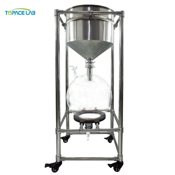 Cheapest Laboratory industrial filtering equipment buchner filtering funnel and small vacuum filter with best price
