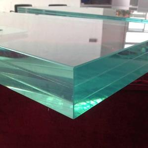 10.76 12.76 16.76mm VSG ESG Tempered Laminated Glass with CE