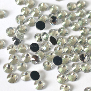 0121W SS4~SS40 crystal clear stones hotfix dmc wholesale dmc stone for dress