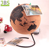 Cork tellurion Globe with Durable Stainless Steel Base