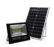 Penawaran Khusus Model 100W Outdoor Sports Ground Lampu Solar Flood Lampu dengan Remote Control