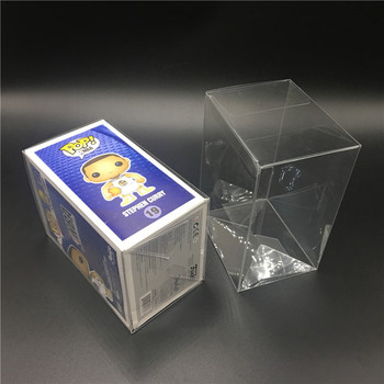 Wholesale Pop Protector,  Soft Crease Transparent Plastic Packaging Box,Funko Pop Box