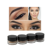 Private label Your own brand makeup eyebrow best selling products eyebrow gel waterproof eyebrow pomade 8 colors