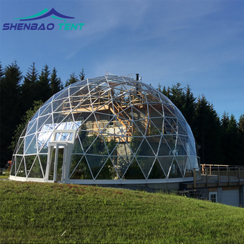 China Suppliers Geodesic Glamping Dome Tent Used Party Tents For Sale