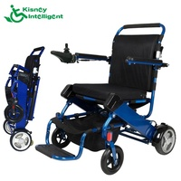 Healthcare Supply portable folding power wheel chair for disabled people