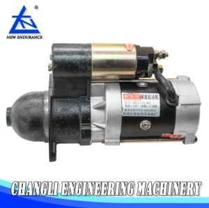 Shanghai New Holland Engine Parts 495A Engine starter motor for tractors  diesel generators 495A-40000