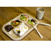 Chinese Wholesale Restaurant Degradable Non-toxic Organic Plates Bamboo Fiber Dinner Sets With FDA