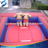 Best price funny Inflatable sumo wrestling arena,sumo wrestling suits for kids and adults