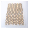 new design metal bow and rhinestones hot fix sheet for garments