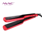 Private Label Ceramic Flat Iron New Technology Ceramic Red Flat Iron With Teeth Wholesale