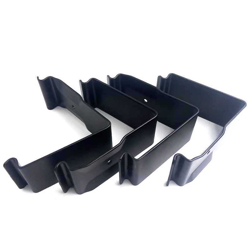 Carbon steel black e-coating flat 봄 clip 강 crate clip