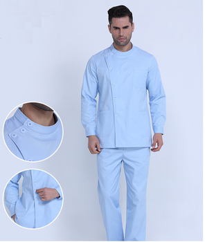 Nurse costume medical surgical long sleeve uniform