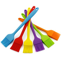 Wholesales Food Grade Pastry Silicone Basting Brush High Temperature Resistance, for BBQ Baking