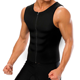 Weight Loss Neoprene Body Shaper Men Slimming Waist Trainer Vest Zipper