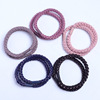 High Fashion Simple Overstriking Custom Hair Rubber Ties Elastic Band Hair