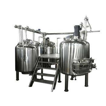 DYE Customized Beer Making Equipment 3 Vessel Brewhouse Brewery System for Sale