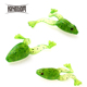 KINGDOM Model 3814 4pcs/Bag 60mm 5g Surface Frog Lure Soft Fishing Lure Soft Frog Baits