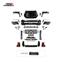 GBT facelift body kits include rear and front bumper grille head light year 2010_2017 upgrade to 2018 for Toyota Prado fj150