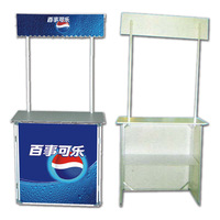 Top Quality Plastic Portable Promotion Tables Folding for Supermarket