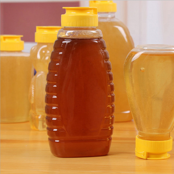 Food grade 170ml 230ml pet pot honey plastic bottle jar