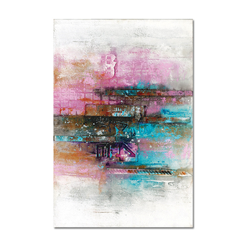 Letter paint inkjet Modern handmade Art abstract oil painting