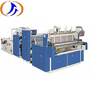 Kitchen Paper Towel Converting Toilet Paper Machine Line