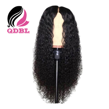 Qingdao Baoli Stock 9A Grade Virgin Hair Curly Human Hair Lace Wig Brazilian 24-Hour Delivery Lace Front Wig with Baby Hair
