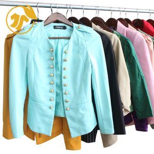 Used Clothing Ladies Thin Jackets Second Hand Women Clothes bales