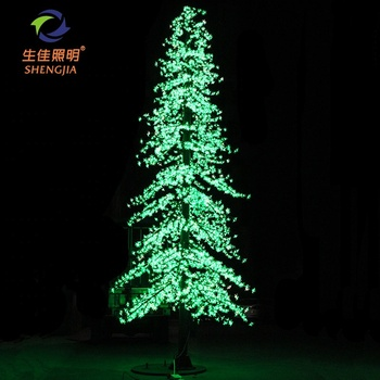 Holiday Decoration with remote control for outdoor tree decoration led commercial christmas tree lights