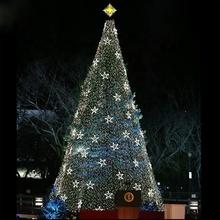 Weihnachtsbaum Drahtgestell.Riesen Outdoor Straße Led Beleuchtete Dekoration Metall Draht Rahmen Spirale Weihnachten Baum