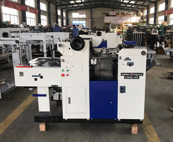 CF62NP B2 size automatic numbering and perforating machine